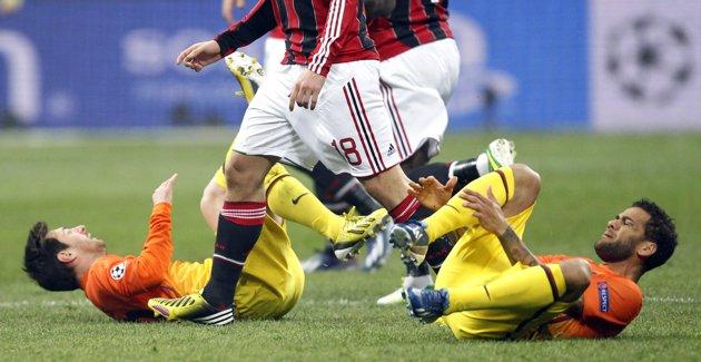 Ac Milan vs Barcelona 6
