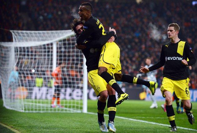 Borussia Dortmund vs. Shakhtar Donetsk  10