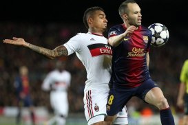 Barcelona vs Ac Milan 2nd leg UEFA Champions League 14