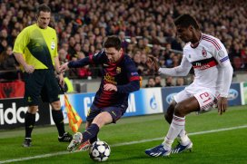 Barcelona vs Ac Milan 2nd leg UEFA Champions League 15