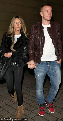 Georgina Dorsett WAG Tom Cleverly Manchester United 2