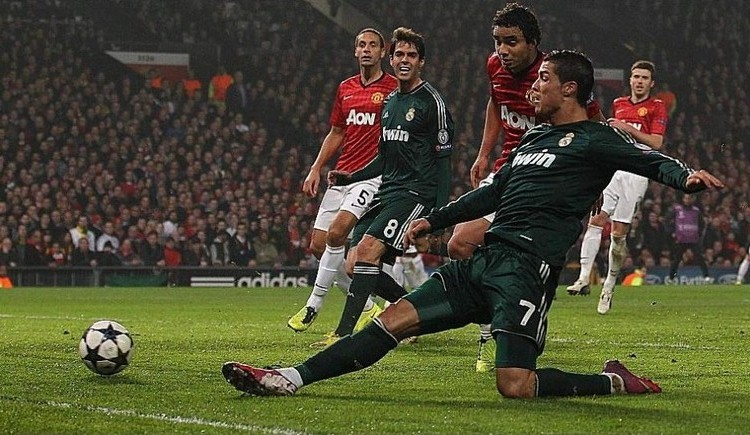 Manchester United Vs Real Madrid Uefa Champions League quarter final 2nd leg 10