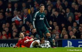 Manchester United Vs Real Madrid Uefa Champions League quarter final 2nd leg 16
