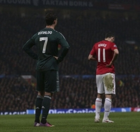 Manchester United Vs Real Madrid Uefa Champions League quarter final 2nd leg 17