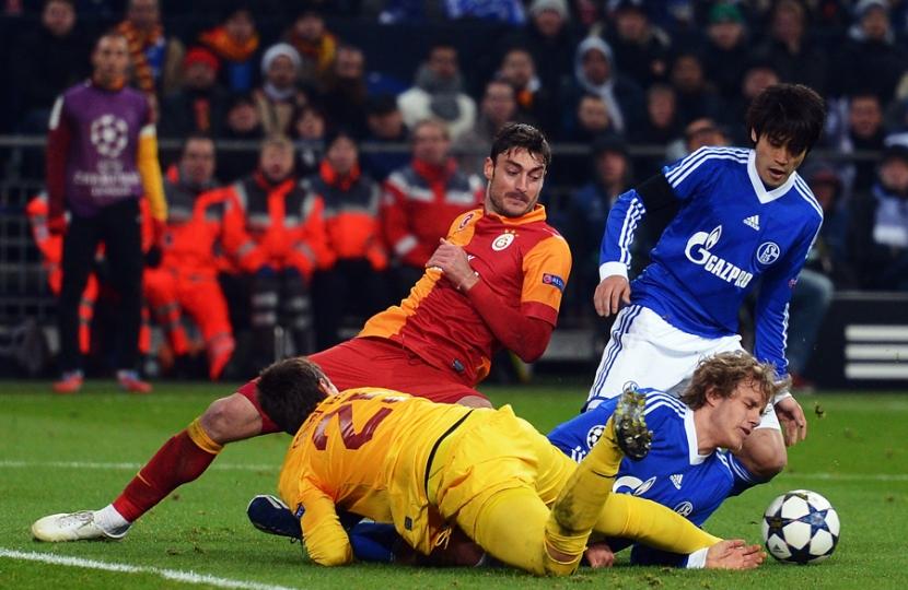 Schalke Vs Galatasaray