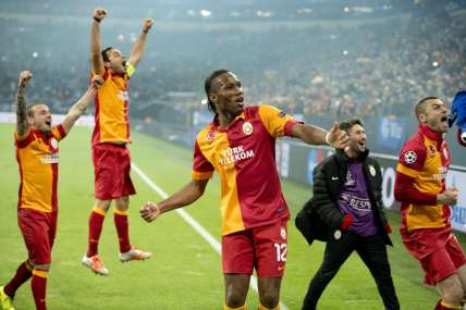 Schalke vs Galatasaray UEFA Champions League 2nd Leg Quarter Final 2