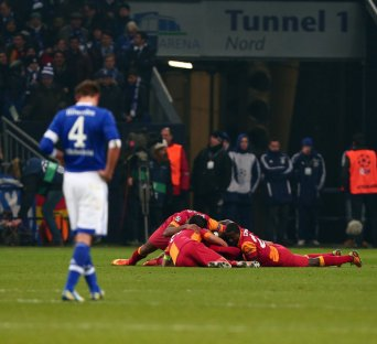 Schalke vs Galatasaray UEFA Champions League 2nd Leg Quarter Final 7